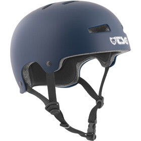 TSG Evolution Solid Color casco per bici blu